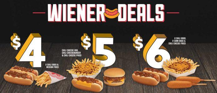 Wienerschnitzel New Wiener Deals