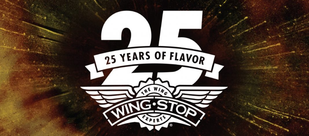 Wingstop 25 Years of Flavor announcement