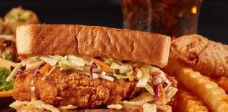Zaxby's new The Zensation Fillet Sandwich