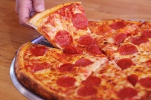 Blaze Pizza new large 8-slice pizza with pepperoni