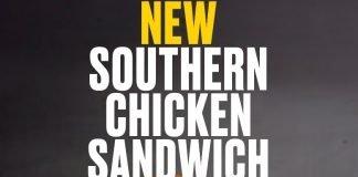 Buffalo Wild Wings new Southern Chicken Sandwich
