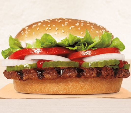 Burger King new Impossible Whopper Sandwich