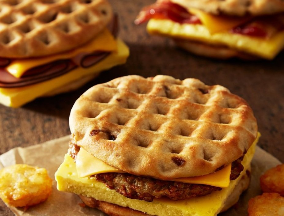 Burger King new Maple Waffle Sandwiches