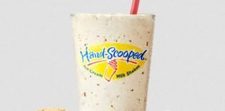 Carl's Jr. Spins New Chocolate Chip Cookie Shake