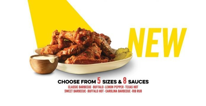 Dickey's new Slow-Smoked Chicken Wings