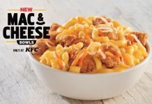 KFC new Mac & Cheese Bowls
