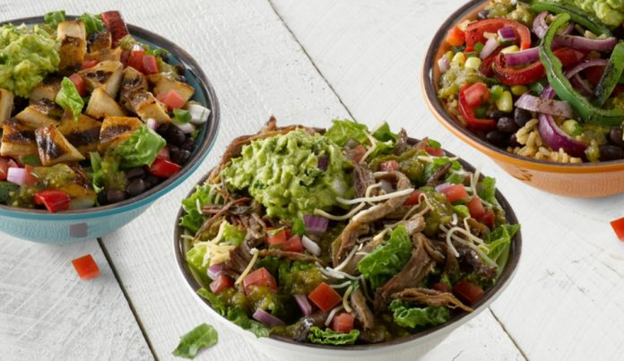 Qdoba new keto, vegan, and protein bowls