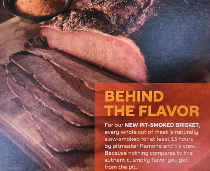 Subway new 13 Hour Pit-Smoked Brisket