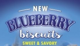 Waffle House new Blueberry Biscuits