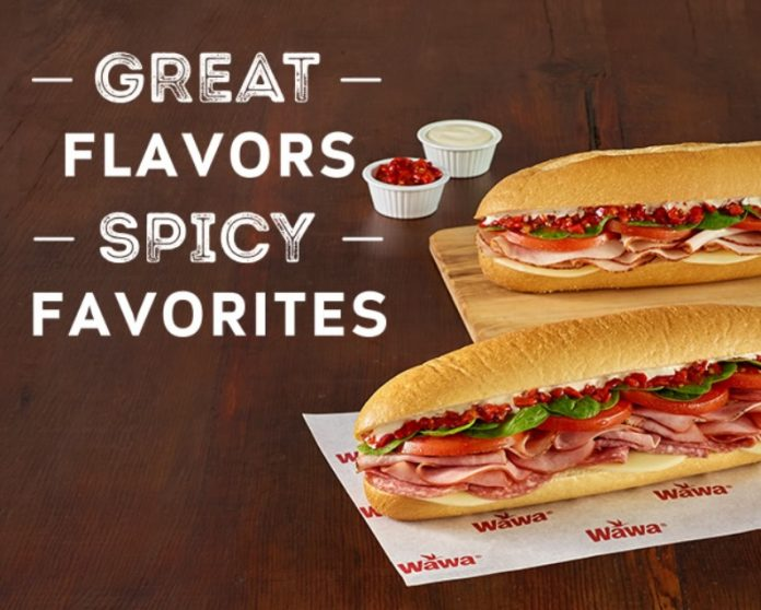 Wawa new Spicy Favorites
