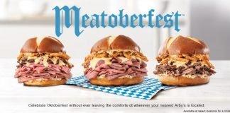 Arby's Meatoberfest menu hero
