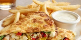 BJ's Introduces New Italian Chicken Piadina