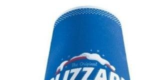 Dairy Queen new Harvest Berry Pie Blizzard Treat