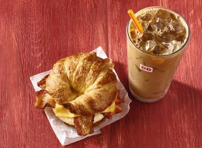 Dunkin' Is Bringing Back The Maple Sugar Bacon Sandwich And Peppermint Mocha Flavored Coffee