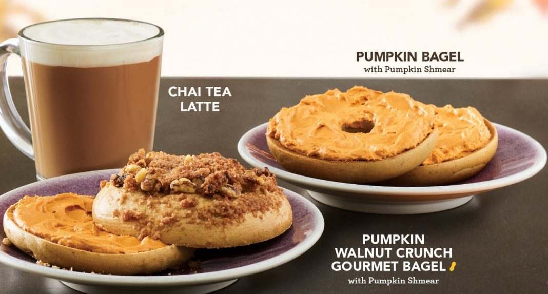 Einstein Bros. Pumpkin Menu