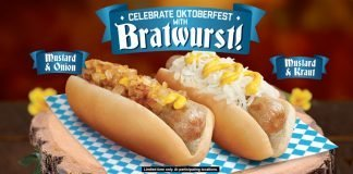 Grilled Bratwurst Sausages Are Back At Wienerschnitzel
