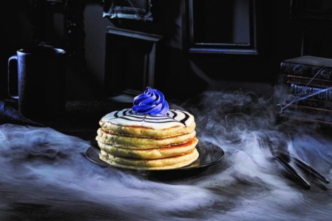 IHOP Whips Up New Addams Family Menu Wednesday's Web-Cakes