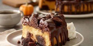 Olive Garden Welcomes Back The Chocolate Chunkin' Pumpkin Cheesecake