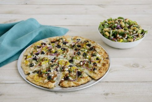 Pie Five Offers Athenian Pizza And New Athenian Salad As Part Of Its New Pizza Passport Sweepstakes