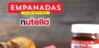 Pollo Tropical new Empanadas filled with real Nutella