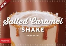Portillo's Spins New Salted Caramel Shake