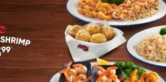 Red Lobster $15.99 Endless Shrimp deal
