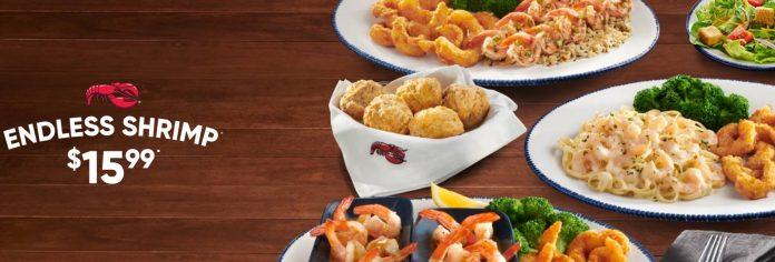 Red Lobster $15.99 Endless Shrimp deal
