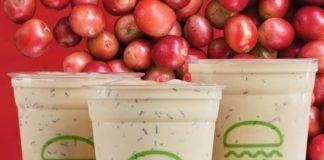 Shake Shack new Cascara Milkshake