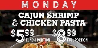 TGI Fridays Offers New Weekday Specials Starting At $5