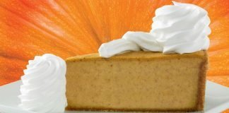 The Cheesecake Factory Welcomes Back Pumpkin Cheesecake And Pumpkin Pecan Cheesecake