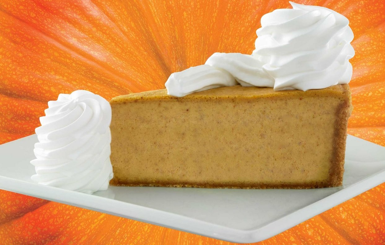 The Cheesecake Factory Welcomes Back Pumpkin Cheesecake And Pumpkin Pecan Cheesecake For Fall The Fast Food Post