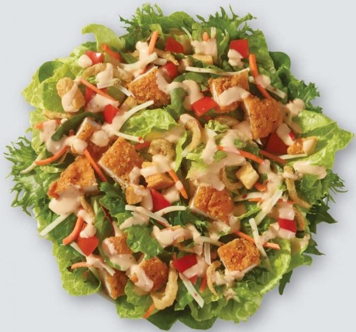 Wendy's Adds New Spicy Buffalo Chicken Salad