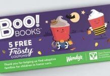 Wendy's Brings Back Boo! Books