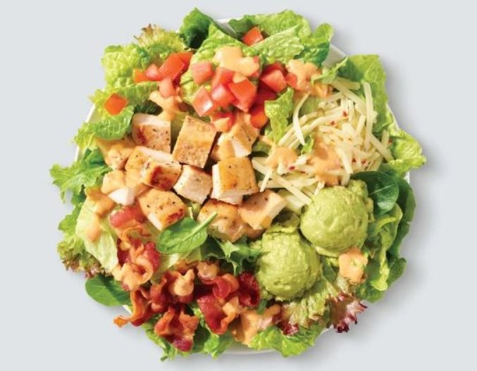 Wendy's Southwest Avocado Chicken Salad is back