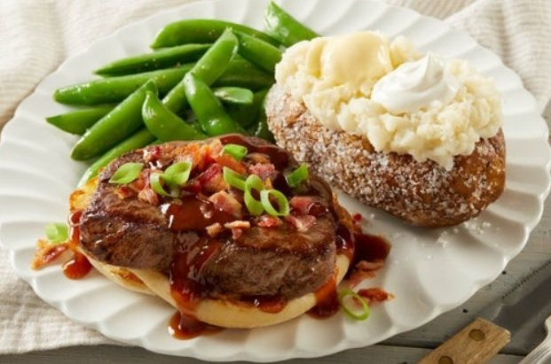 Bob Evans new Bacon Bourbon Steak available on Steak All-Day menu