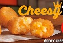Burger King Brings Back Cheesy Tots