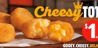 Burger King Brings Back Cheesy Tots