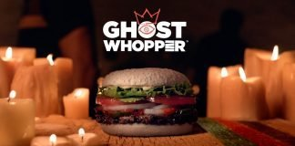 Burger King Launches New Ghost Whopper Sandwich for Halloween