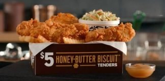Church's Chicken $5 Honey-Butter Biscuit Tenders Box