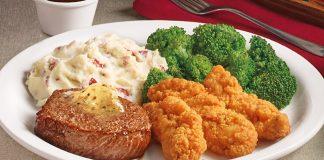 Denny's Puts Together New Garlic Peppercorn Sirloin & Chicken Tenders Dinner