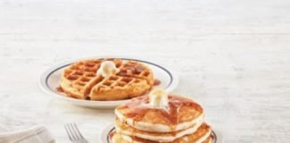 IHOP has a new Gluten-Friendly menu that includes Gluten-Friendly Pancakes and Waffles