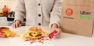 McDonald's Unveils New Halloween Menu Hacks The Itsy Bitsy Spider Burger