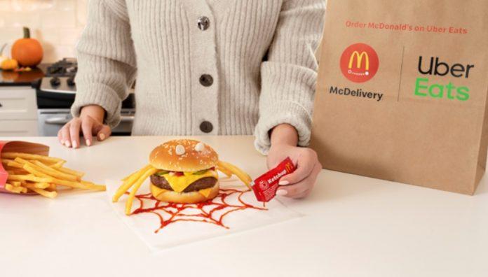 McDonald's Unveils New Halloween Menu Hacks The Itsy Bitsy Spider Burger