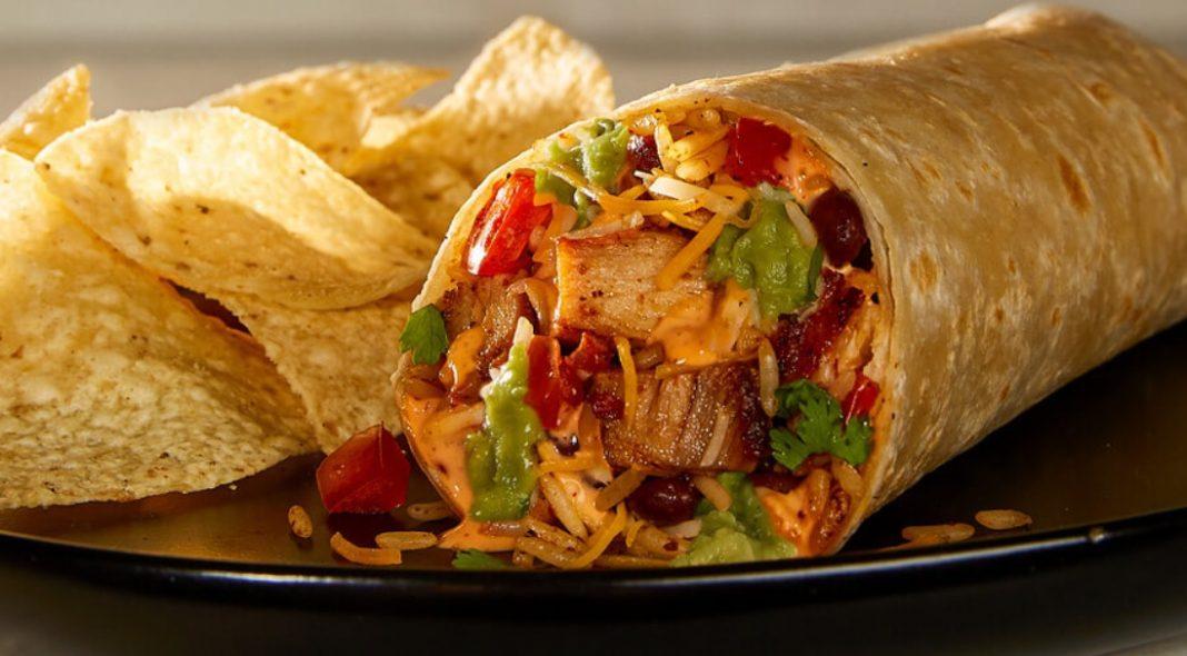 Moe's Southwest Grill New Buffalo Chicken Burrito
