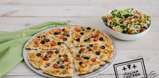 Pie Five Pizza Tosses New Italian Chicken Pizza And Salad