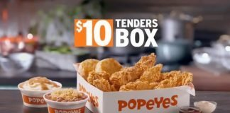 Popeyes Welcomes New $10 Tenders Box