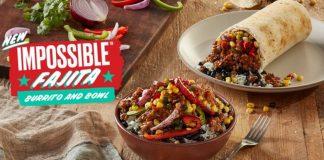 Qdoba Introduces New Plant-Based Impossible Fajita Bowl And Burrito