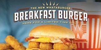 Whataburger Launches New Breakfast Burger