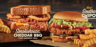 Zaxby's Introduces New Smokehouse Cheddar BBQ Fillet Sandwich And New Southwest Chipotle Fillet Sandwich