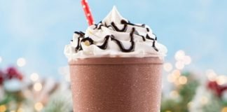 Auntie Anne's Unveils New Hot Chocolate Frost